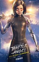 Alita: Battle Angel - Mexican Movie Poster (xs thumbnail)