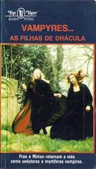 Vampyres - Brazilian VHS cover (xs thumbnail)