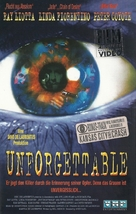 Unforgettable - German VHS cover (xs thumbnail)
