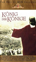 King of Kings - German VHS cover (xs thumbnail)