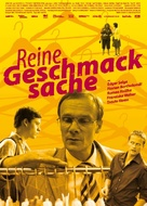Reine Geschmacksache - German Movie Poster (xs thumbnail)