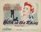 Watch on the Rhine - Movie Poster (xs thumbnail)