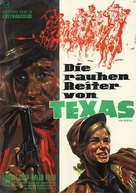The Raiders - German Movie Poster (xs thumbnail)