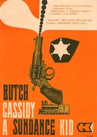 Butch Cassidy and the Sundance Kid - Czech Movie Poster (xs thumbnail)