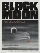 Black Moon - French Movie Poster (xs thumbnail)