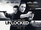 Unlocked - British Movie Poster (xs thumbnail)