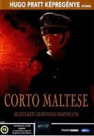 Corto Maltese: La cour secrète des Arcanes - Hungarian DVD cover (xs thumbnail)