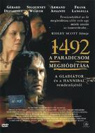 1492: Conquest of Paradise - Hungarian DVD movie cover (xs thumbnail)
