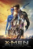 X-Men: Days of Future Past - British Movie Poster (xs thumbnail)