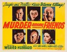 Murder Among Friends - Movie Poster (xs thumbnail)