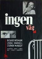 No Way Out - Swedish Movie Poster (xs thumbnail)