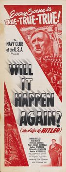 Will It Happen Again? - Theatrical poster (xs thumbnail)