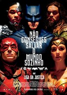 Justice League - Portuguese Movie Poster (xs thumbnail)