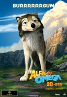 Alpha and Omega - Hungarian Movie Poster (xs thumbnail)