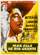 The Wonderful Country - Spanish Movie Poster (xs thumbnail)