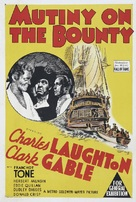 Mutiny on the Bounty - Australian Movie Poster (xs thumbnail)