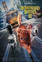 Homeward Bound II: Lost in San Francisco - Movie Poster (xs thumbnail)