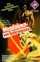Magdalena, vom Teufel besessen - German VHS cover (xs thumbnail)