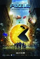 Pixels - Malaysian Movie Poster (xs thumbnail)