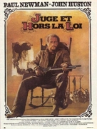 The Life and Times of Judge Roy Bean - French Movie Poster (xs thumbnail)