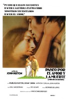 A Walk with Love and Death - Spanish Movie Poster (xs thumbnail)