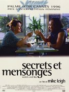 Secrets & Lies - French Movie Poster (xs thumbnail)