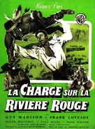 The Charge at Feather River - French Movie Poster (xs thumbnail)