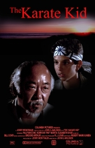 The Karate Kid - VHS movie cover (xs thumbnail)
