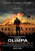 Olympus Has Fallen - Slovenian Movie Poster (xs thumbnail)