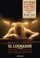 The Wrestler - Spanish Movie Poster (xs thumbnail)