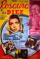 Rosaura a las 10 - Argentinian Movie Poster (xs thumbnail)