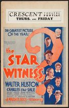 The Star Witness - Movie Poster (xs thumbnail)