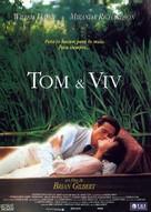 Tom & Viv - Spanish Movie Poster (xs thumbnail)