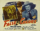 False Colors - Movie Poster (xs thumbnail)