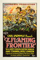 The Flaming Frontier - Movie Poster (xs thumbnail)
