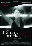 Fille sur le pont, La - German Movie Poster (xs thumbnail)
