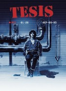 Tesis - German Movie Cover (xs thumbnail)