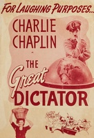 The Great Dictator - poster (xs thumbnail)