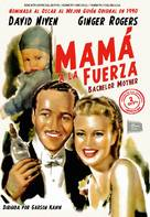 Bachelor Mother - Spanish Movie Cover (xs thumbnail)