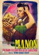 Manon - Italian Movie Poster (xs thumbnail)