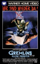 Gremlins - German VHS movie cover (xs thumbnail)