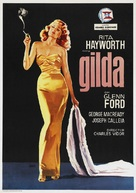 Gilda - Spanish Re-release movie poster (xs thumbnail)