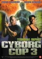 Cyborg Cop III - Dutch DVD movie cover (xs thumbnail)