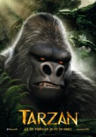 Tarzan - German Movie Poster (xs thumbnail)