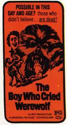 The Boy Who Cried Werewolf - Movie Poster (xs thumbnail)