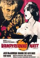 Dance of the Vampires - Swedish Movie Poster (xs thumbnail)