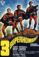 I fantastici tre supermen - Mexican Movie Poster (xs thumbnail)