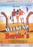 Weekend at Bernie's - Danish DVD cover (xs thumbnail)