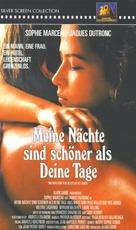Mes nuits sont plus belles que vos jours - German Movie Cover (xs thumbnail)