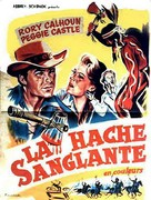 The Yellow Tomahawk - French Movie Poster (xs thumbnail)